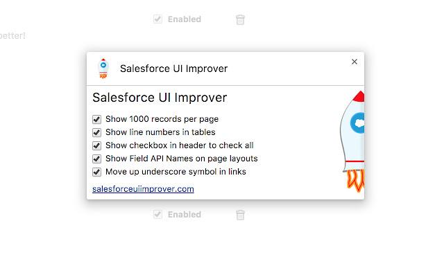 Salesforce UI Improver
