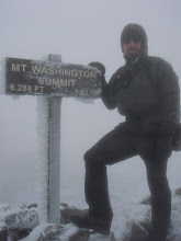 Photo: Me on Mount Washington. Not sure what the wind chill was but it was cold. Photo by Tommy Bell