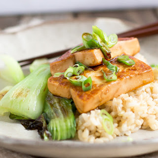 Protein-Packed Japanese Tofu Steak.