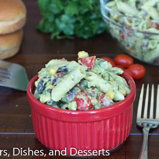 Creamy Avocado Pasta Salad.