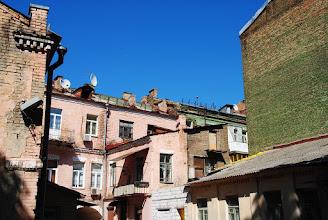 Photo: Киевские трущобы, в самом центре города.