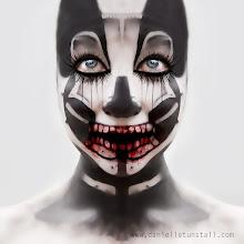 Photo: Model and make up Alice Bizarre Make Up