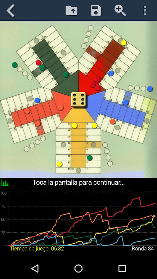 Parchís- screenshot