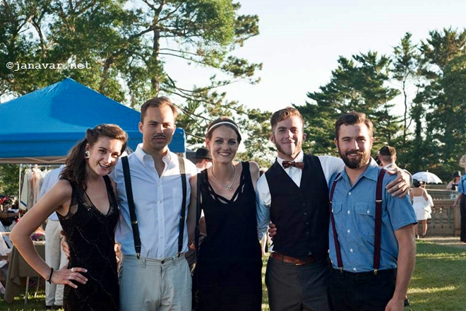 1920s love: The Roaring Twenties Lawn Party, Crane Estate, Ipswich, MA
