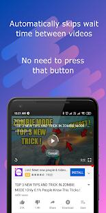 Ad Skipper for YouTube - Skip & Mute YouTube ads ✔ Screenshot