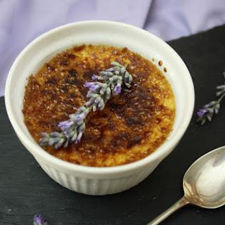 Lavender Crème Brûlée.