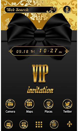 Stylish Theme-VIP Gold Ribbon- 1.0.1 Windows u7528 1