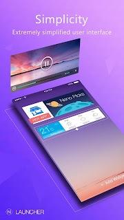 Nano Launcher-simple&smart screenshot 02