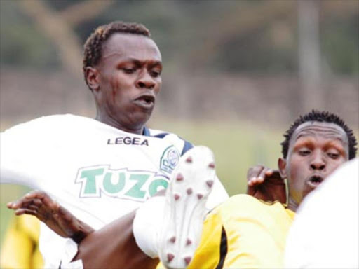 Gor Mahia's Kevin Omondi in a past match /FILE