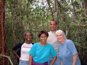 Photo: Ironwood Forest explorers Jan. 24, 2003