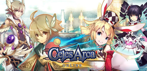 """Celes Arca"", an MMORPG for Smartphones with overwhelming volume."