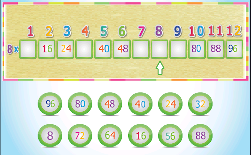 Kids Multiplication Tables - náhled