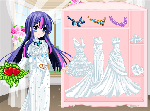 Twilight Wedding : Pony Dress Up Game modavailable screenshots 2