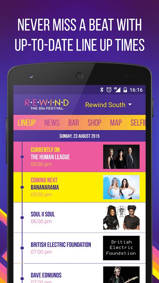 Rewind Festival - screenshot