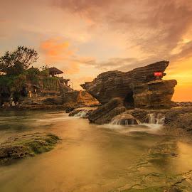 Tanah lot - Bali by Pratiwanjono Pratiwanjono - Nature Up Close Other Natural Objects