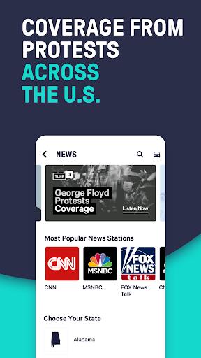 TuneIn Radio: Live News, Sports & Music Stations screenshot 1