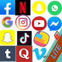 All social media and All social networks 2021 icon