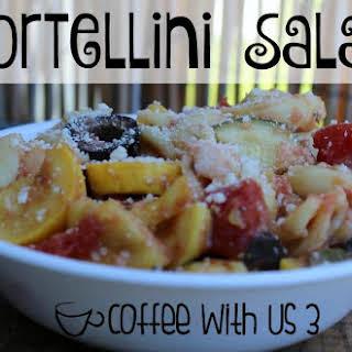 Tortellini Summer Salad.