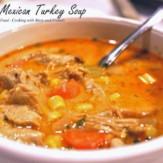 Creamy Mexican Turkey Soup