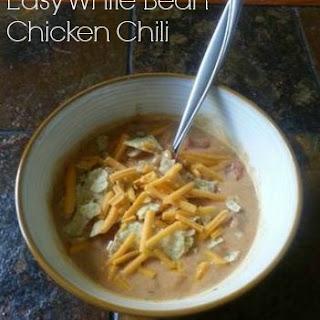White Bean Chicken Chili Recipe - EASY!