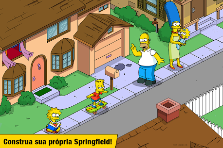 The Simpsons Tapped Out Apk Mod Compras Grátis 1