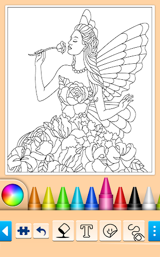 Princess Coloring Game 14.0.6 screenshots 11