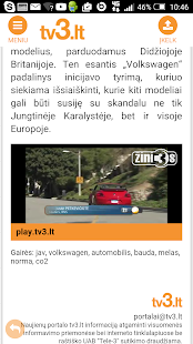 tv3.lt- screenshot thumbnail