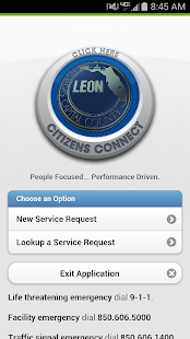 Leon County Citizens Connect- screenshot thumbnail