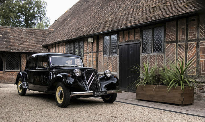 Citroen Traction Avant 11b Hire St Nicholas At Wade