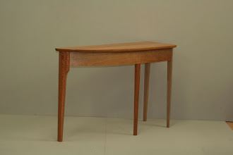 Photo: Stefano's hall table  Qld Maple
