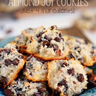 Almond Joy Cookies - Just 4 Ingredients!.