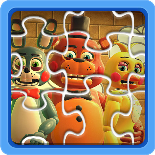 Jigsaw FNAF Puzzle Toys