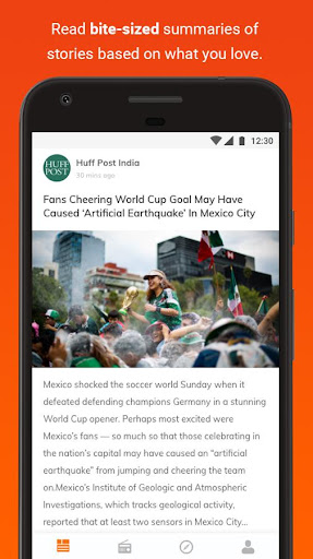 Hubhopper: Latest News and Free Podcast App 3.2 screenshots 2
