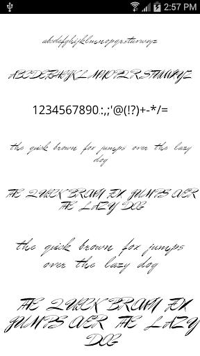 Fonts for FlipFont Love Fonts 4.0.4 screenshots 1