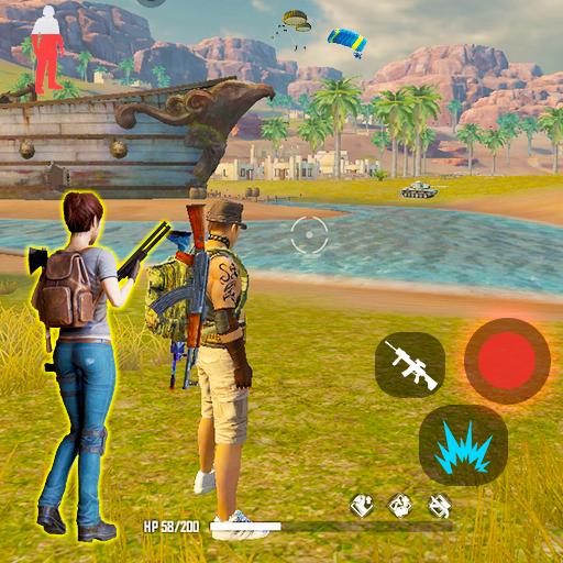 3D Free Fire Battleground Epic Survival Squad