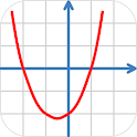 Quadratic equation icon