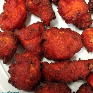 Chicken 65 ( Chicken Marinaded In Traditional Indian Spices and Deep Fried).