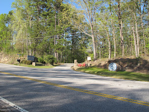 Photo: Camp Toccoa entrance from Hwy 17/Falls Road