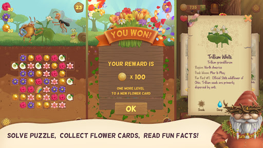 Flower Book: Match-3 Puzzle Game 1.76 screenshots 7