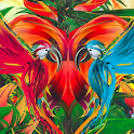 Abstract Jungle Live Wallpaper icon
