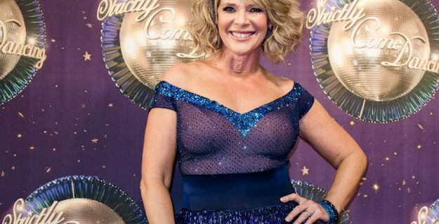 Ruth Langsford's Strictly injury