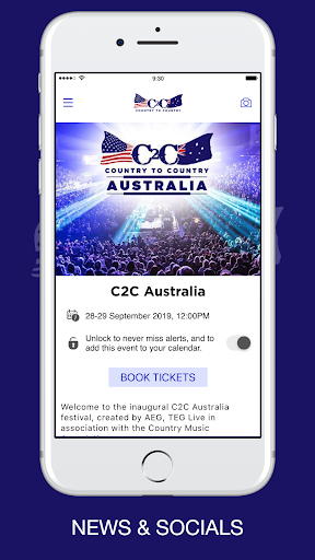 C2C Australia screenshot 1