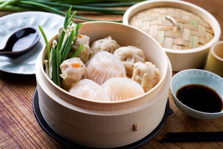 In China dim sum are a breakfast dish.