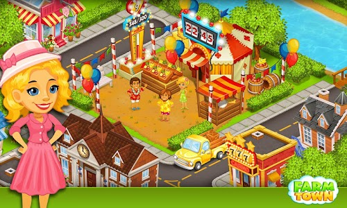 Farm Town:Happy City Day Story v1.89 [Mod Money]