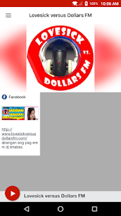 Lovesick versus Dollars FM - náhled