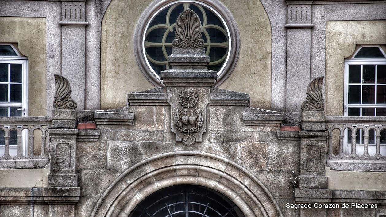 Antiguo escudo de las Religiosas del Sagrado Corazón de Jesús