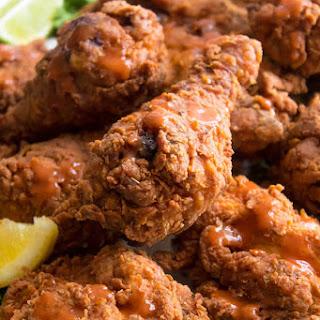 Spicy Buttermilk Fried Chicken.
