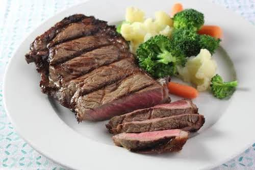 "Click Here for Recipe: Lisa's Grilled Steaks ""I made these the other..."
