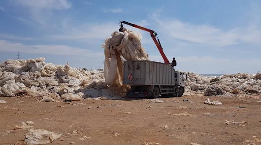 Almería recicla más del 95% de los plásticos de los invernaderos