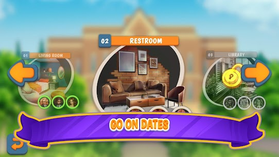 Campus Date Sim Mod Apk 2.24 (Unlimited Money & Energy) 4